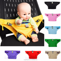 2018 wholesale alibaba china suppliers high quality cotton baby dining chair belt safety stretch wrap feeding harness booster