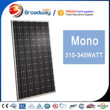 Hot Selling Export USA France 300 Watts Monocrystalline Sun Power Solar Panel 300W 300wp PV Module Manufacturer