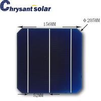 156*156mm Monocrystalline Solar Cell with 3BB