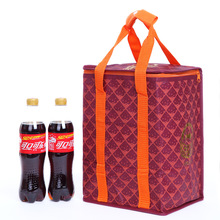 Custom Insulated Soft Sided Wine Lunch Cooler Bag