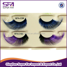 free sample hand made fake eyelashes in custom packaging