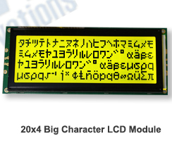 Character Lcd Module 40 Character x 4 Row LCD Display