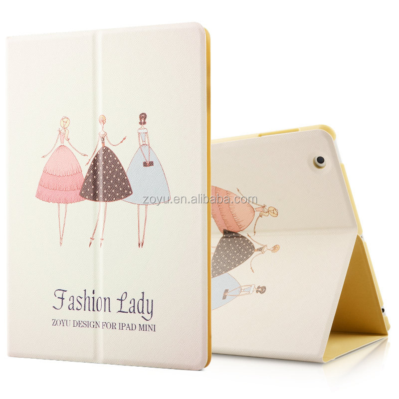 good texture fabric shockproof tablet case for ipad 234