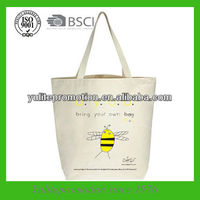 eco cotton shopper bag for promotion