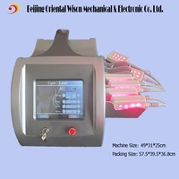 8/10/12 paddles lipo laser cellulite reduction body shape equipment