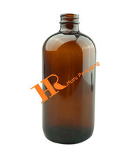 500ml Amber Brown Essential Oil Bottle Body Lotion Bottle Shampoo Bottle