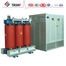 2500kva 15kv 20kv 3 phase epoxy cast resin dry type neon transformer