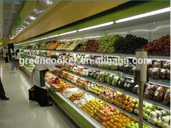 beverage/fruit/vegetable open display refrigerator