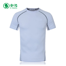 New Pattern Custom Logo Summer Quick Dry Sublimation Men Sport T Shirt