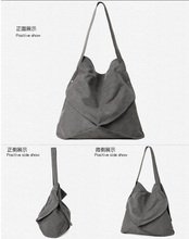 Cheap Fashion Foldable Vintage Canvas Ladies Handbag