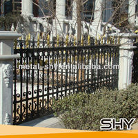 Cast Iron Fence Decorations Metal Fence