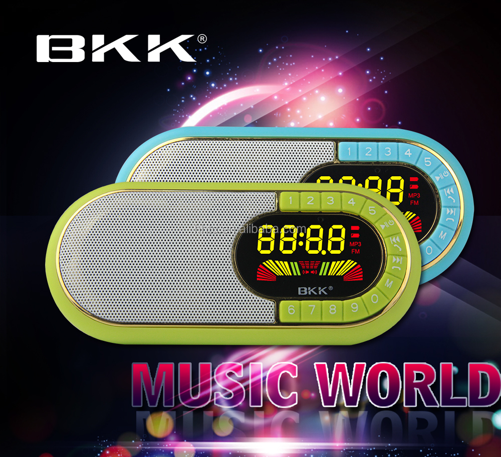 Hand free music box MP3 player mini portable Bluetooth speaker with USB, TF card