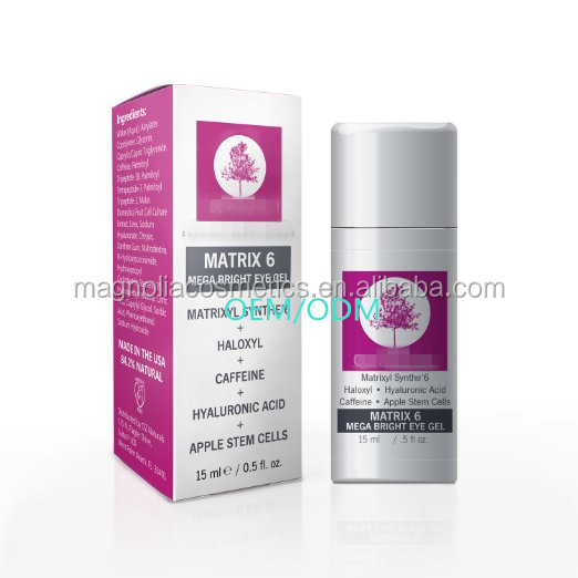 BEST Eye Treatment Gel For Dark Circles, Puffiness + Wrinkles. Anti Aging. Moisturizing