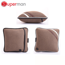 wireless car home travel massage pillow vibration massage chair seat cushion battery operated back massager