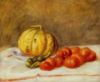 Impression oil fruit painting still life reproduction