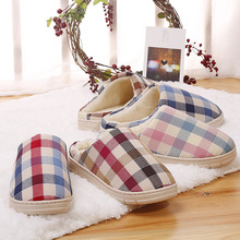 Fashion Coral Velvet Soft Close Toe House Indoor Slide Men Shoes Slipper For Spa