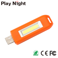 Wholesale Portable Mini COB Rechargeable USB