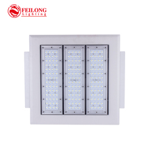 Surface mounted LED light source gas station light 150w led canopy light