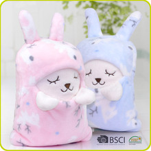 Soft High Quality Double Sided Plush Pillow Blanket Cartoon Cushion Blanket