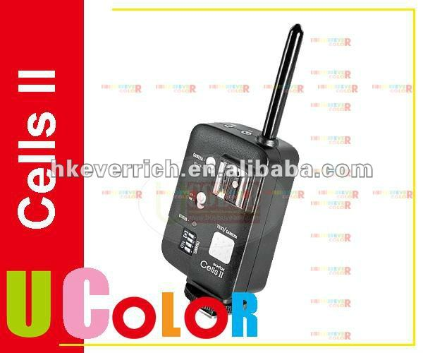 Cells II 16 Channels 1/8000 Wireless Trigger Transceiver For Nikon D800 D700 D3s