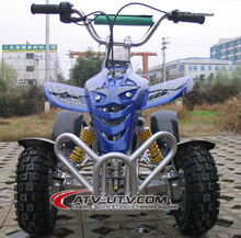 49cc mini ATV quad with rear carrier ,rear mirror for best sales with CE