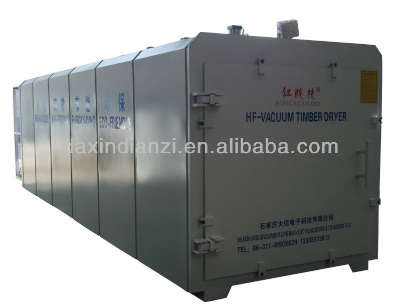 HF Vacuum Wood Dry Kiln Woodworking Drying