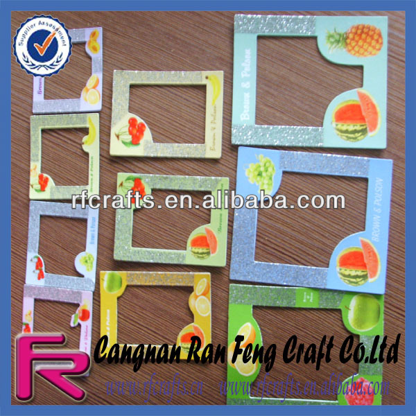 Fruit Printed Magnetic Photo Frame For Fridge