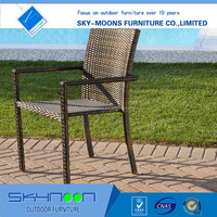 All-season performance rattan chair, PE rattan garden used rattan chair,outdoor furniture(11025)