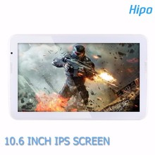Elegante 10.6 polegadas tela de toque inteligente Android Tablet PC Quad Core