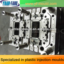 Factory directly sales quality assurance design and processing plastic injection car battery container mould