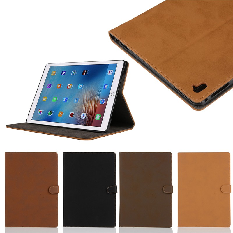 Vintage color PU leather case for ipad pro 9.7 inch with stand , for ipad pro cover leather