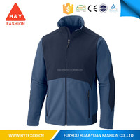Oem 2015 Jacket Fashion Polar Fleece With Upper Contrast Softshell Fabric Material---7 years alibaba experience