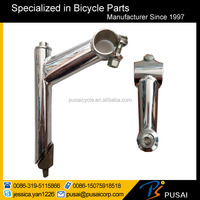 China cheap chromed bike handle bar stem for sale