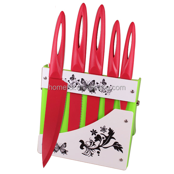 New Stylish coloured kitchen knife wholesale good cook knife cutter knife