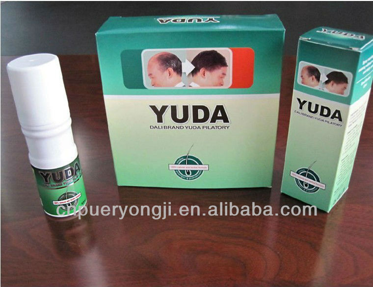 Free Shipping Yuda Hair Growth Pilatory Hair Loss Treatment(strengthen formulation)