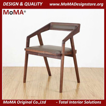 Restaurant Dining Chair Vintage Wood Furniture Design Wooden Armchair