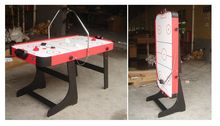 cheap folding air hockey table for sale
