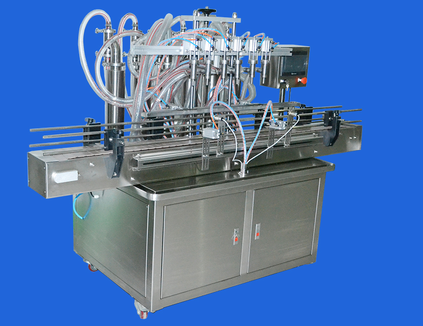 200-2500ML double nozzles bottle liquid filling machine