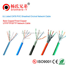 Armored/braided CAT6 Ethernet cable with factory price CCAU(40%)
