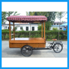 ZZMERCK Street Business Ice Cream Selling Healthy Food Sale Cargo Trike