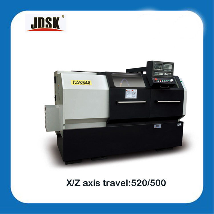 cnc flat bed lathe Automatic CNC Lathe Machine for grinding component with tailstock CAK640