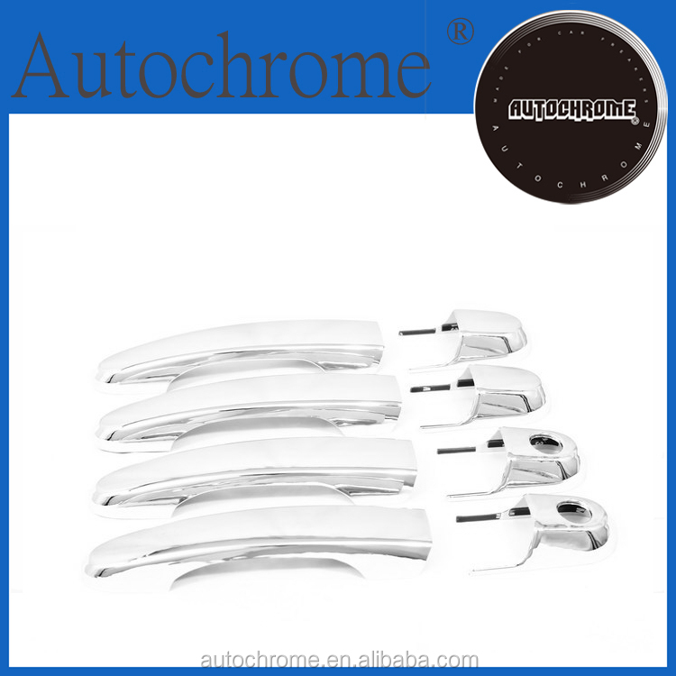 Factory price car auto exterior accessories door handle assembly, chrome door handle cover - for Hyundai Tucson