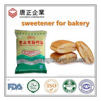 Sweetener Professional Supplier: Heat-Resistance Compound Sweetener For Bakery / Beverage