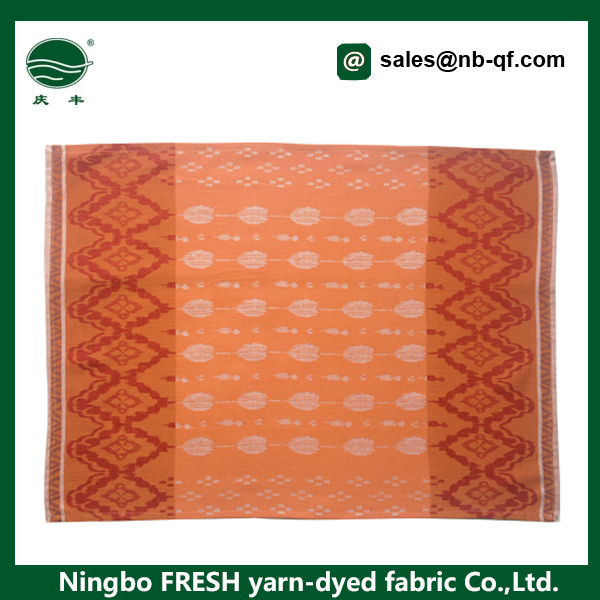 100% cotton cleaning soft kitchen tea jacquard towels manufacturer