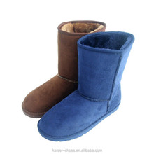 2016 Factory Direct Hot sale New Fashion Cheap Price Warm Suede Kids Winter Snow Boots