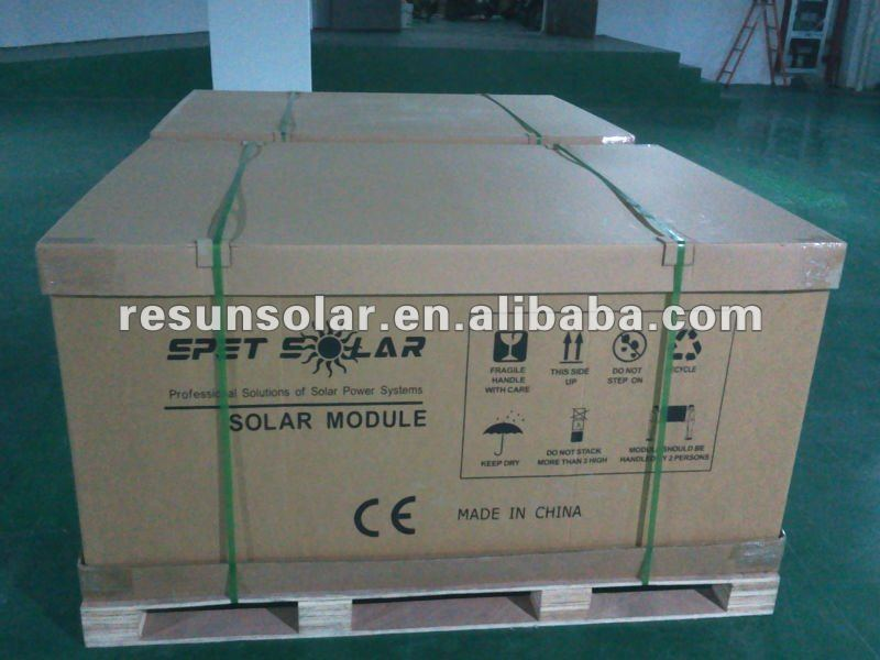 72Cells 36V Solar Panel 335W Poly Solar Panel cost effective high quality