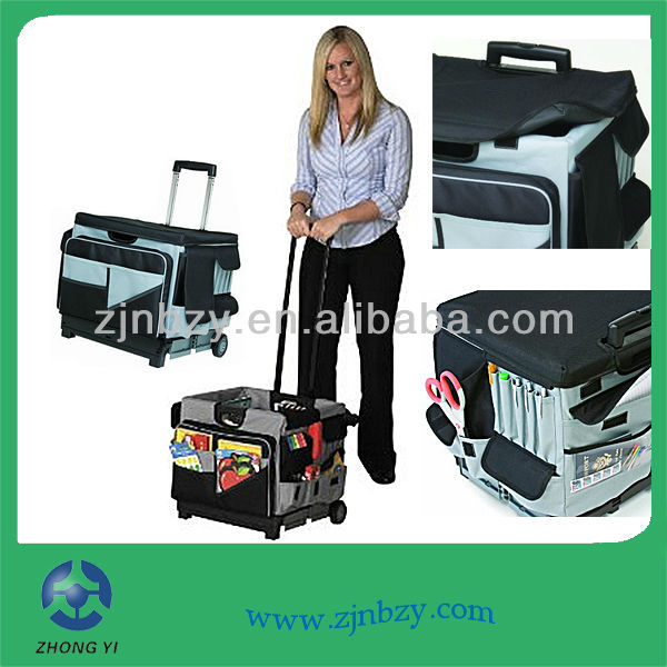 Universal Rolling Cart and Organizer Bag Set
