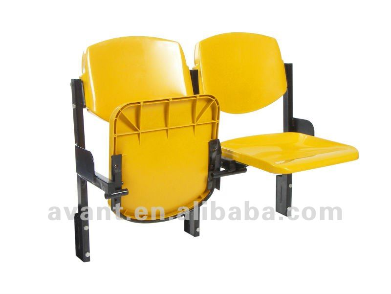outdoor,indoor fade-proof blow mold ball games folding chair,bleacher for public events like school,theater,church,hall use