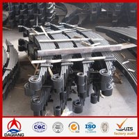 Suspension System used composite leaf springs for tractor truck
