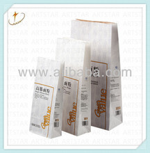 Large,Middle,Small size wheat flour sack paper bag for sale